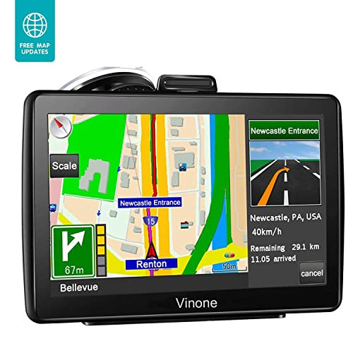 Buy GPS Navigation for Car, 7 inch 8GB&256MB GPS Navigation