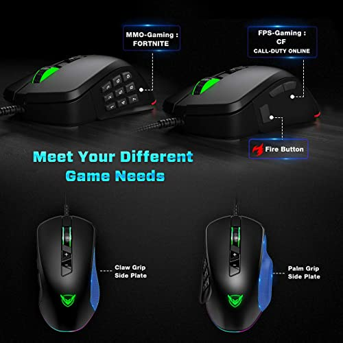 Buy PICTEK Gaming Mouse Wired, 24,000 DPI Optical Sensor-Chroma RGB