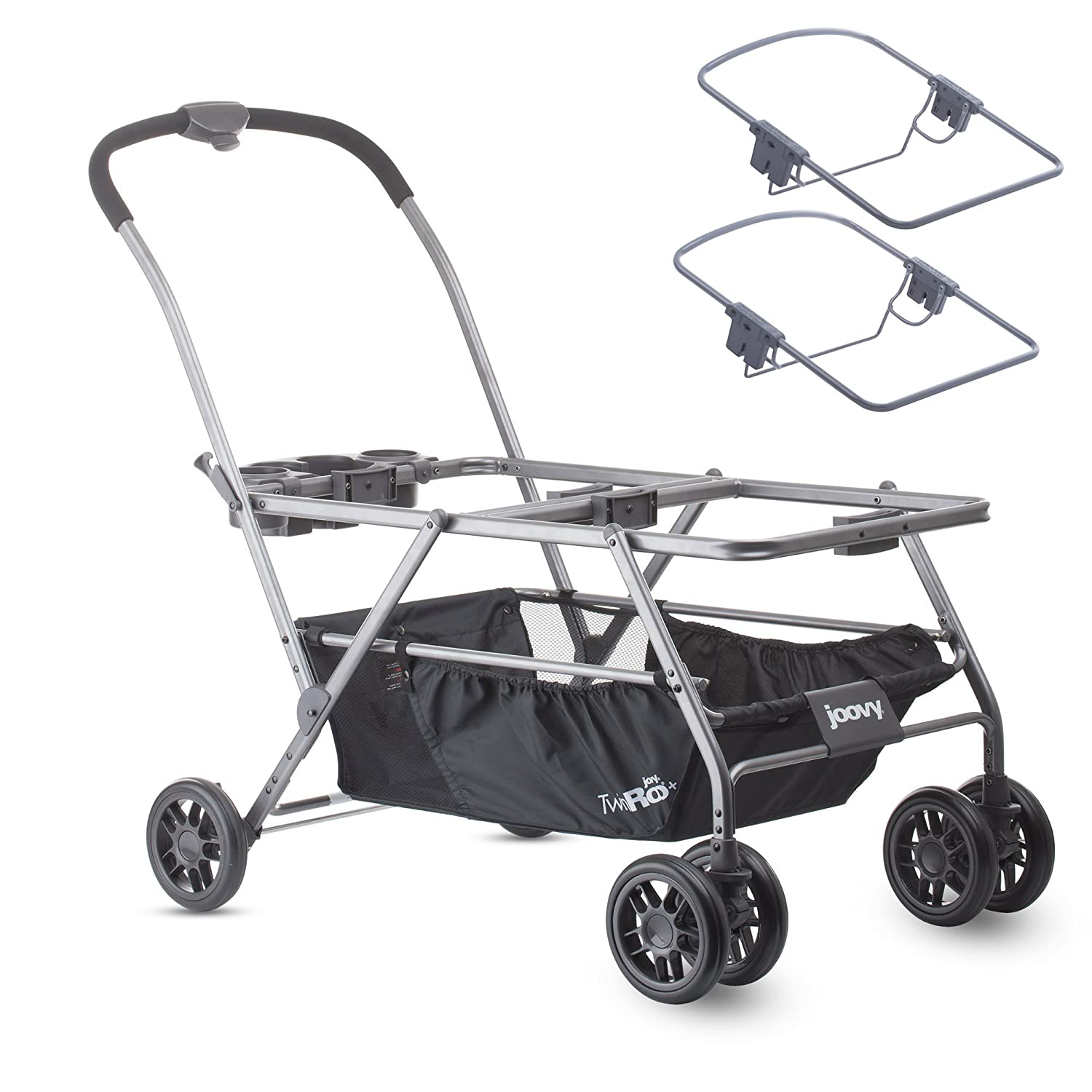 Joovy Twin Roo Car Seat Stroller, Double Strollers With Car Seats