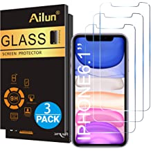Ailun Glass Screen Protector For Iphone 11 Iphone Xr 6 1 Inch 3 Pack Tempered Glass Screen Protector For Apple Iphone 11 Iphone Xr 6 1 Inch